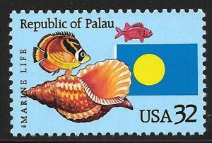 U.S. Scott #2999  32c Republic of Palau Stamp MNH OG XF