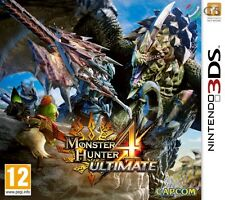 Monster Hunter 4 Ultimate Nintendo 3DS * NEW SEALED PAL *
