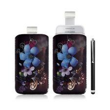 Housse coque étui pochette pour Samsung Wave 575 S5750 avec motif + Stylet luxe