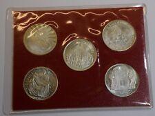 GN934 - Satz Vatikan 1983 Johannes Paul II. mit 5 tollen Medaillen Souvenierset