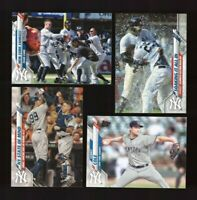 2020 Topps Series 1 & 2  NEW YORK YANKEES Team Set 25 Cards