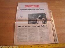 1969 Long Beach Cal State Daily Forty-Niner school newspaper John Rothman jew