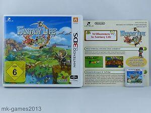 Fantasy Life für Nintendo 3DS/2DS - OVP+Anl. - Sehr guter Zustand BLITZVERSAND