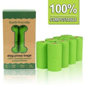 Dog Poo Bags Extra Strong Large Double Thick Dog Poop Dispenser Doggy bags Scent