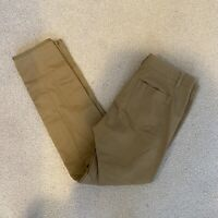 Vince Womens Size 10 Khaki Side Button Pants Straight