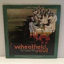 The Guess Who Wheatfield Soul LP Album 1969 RCA ANL1-1171 VG+ Cummings Bachman