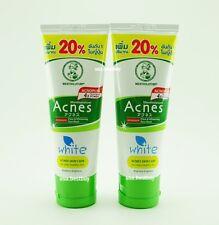 2 x Mentholatum Acnes Facial Foam Anti-Bacterial Oil Control Skin Care Blemish