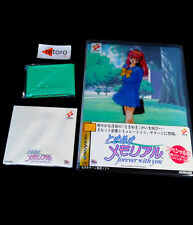 TOKIMEKI MEMORIAL FOREVER WITH YOU SPECIAL VERSION Sega Saturn SS JAPONES Konami