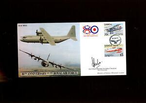 1998 RAF cover signed by Air Chief Marshal Sir John Cheshire KBE CB FRAeS RAF