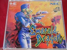 EMERALD DRAGON NEC PC ENGINE DUO TURBO DUO GT EMERALD DRAGON SUPER CD ROM 2