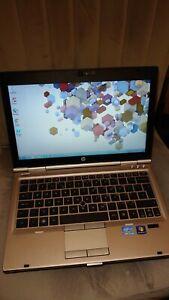 "HP EliteBook 2560p 12.5"" Inch Laptop - Windows 7, Core i7, 120GBHDD , 4G RAM"