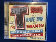 Frankie lymon  and the teenagers. 2 cds.    . Essential recordings  1955 -  1961