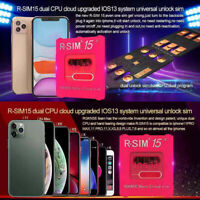 Card R-SIM15 RSIM14+ Smart Activation For iPhone 11 Pro Max / 11 Pro / 11 iOS13