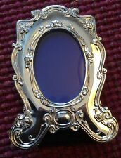 New Silver Colored Fancy Frame, Desk Top,