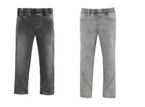 Ladies Jeggings in two Grey Tones 3/4 Capri length Cropped Trousers