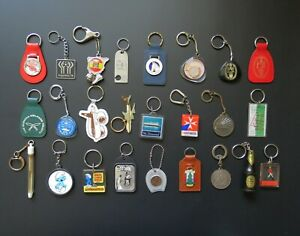 Collection of Vintage Key-Rings / Chains / Fobs – Sold Individually