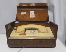 Antique wood cased house phone for parts repairs