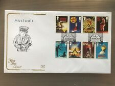 Cotswold First Day Cover 2011 Musicals