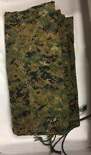 USMC Military REVERSIBLE FIELD TARP***Tarpaulin MARPAT/Coyote 90x80****Ex/Revise