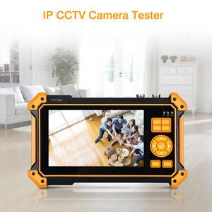 Pro 8MP IP CCTV Camera Tester AHD TVI CVI SDI Security Analog 4K H.265 LCD PoE