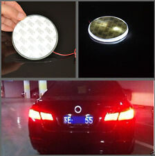 For BMW 3 5 7 X3 X5 X6 Series 82mm Badge Emblem Red LED Background Light Sticker