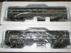 MTH 30-6084 New York Central Passenger Combine /Diner 2 car Set -O27