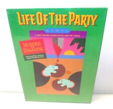 LIFE OF THE PARTY MYSTERY MURDER IN PARADISE DINNER PARTY GAME VTG 1987 MB