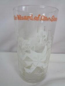 The Wizard of Oz - Scarecrow- White & Orange - Swift Peanut Butter Promo Glass