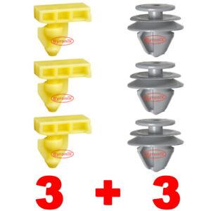 REAR WHEEL ARCH TRIM CLIPS FOR NISSAN QASHQAI J11 EXTERIOR FLARE GREY PLASTIC