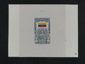Nystamps Colombia Large Die Proof Rare a10yb