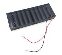 1pcs Battery Holder Box Case w/Wire 10 X AA 15V ship US