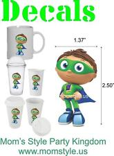 Super Why Cup Decal