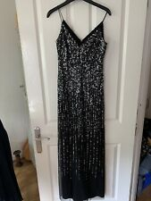 adrianna papell size 8 Sequin Maxi Formal Dress / Occasional Dress
