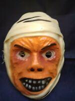 TERROR HALLOWEEN THE MUMMY KARLOFF MASK BEN COOPER MADE IN MEXICO