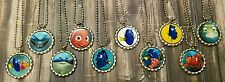 10 Finding Dory~Finding Nemo~ inspired Bottle Cap Necklaces Party Favors Gifts