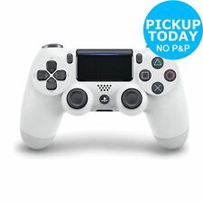 Sony Playstation PS4 DualShock 4 V2 Wireless Controller - Glacier White - Argos