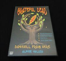 Grateful Dead Downhill From Here Alpine Valley DVD 1989 Summer Tour WI 1999 1st