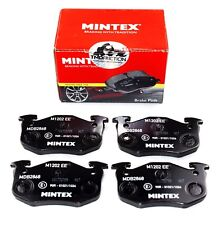 MINTEX REAR AXLE BRAKE PADS FOR CITROEN PEUGEOT MDB2868 (REAL IMAGE OF PART)