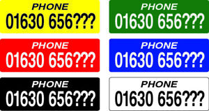Racing Pigeon ETS Ring Phone Number Stickers +20% EXTRA FREE pigeon loft