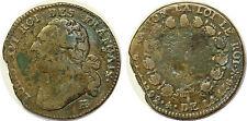 LOUIS XVI 12 DENIERS 1792 BB G.13 ROI DES FRANCAIS