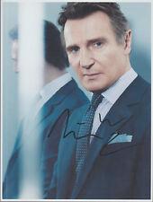 LIAM NEESON Signed 8 x 10 Color Photo Autograph w/ COA - Nice Pic & Rare AUTO