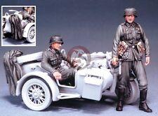 Legend 1/35 German Motorcycle Riders Set WWII (for Italeri #315 BMW R75) LF0010