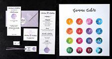 SET COORDINATO MATRIMONIO  - Partecipazioni + menu + bigliettini bomboniere...