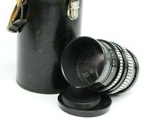 VTG Black PENTACON auto 2.8/135mm M42 screw mount lens Telephoto Portrait JN60