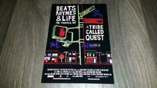 """Beats Rhymes and Life PP Signed 12""""x8"""" A4 Photo Poster & a Tribe Called Quest"""