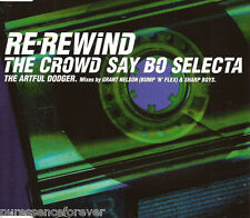 ARTFUL DODGER - Re-Rewind: The Crowd Say Bo Selecta (UK 3 Tk CD Single)