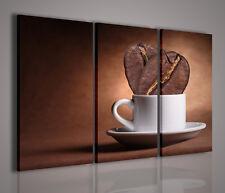 QUADRI MODERNI TELA CANVAS CAFFE/' COFFEE BAR BRASILE WORLD 70X40