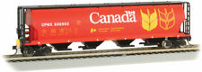 Bachmann-Canadian Cylindrical 4-Bay Grain Hopper with FRED - Ready to Run - Gov