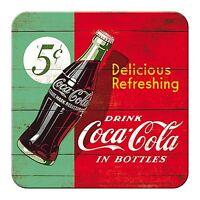 Coca Cola Delicious Rinfrescante Sughero Retro Sottobicchiere / (Na)
