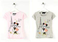T-shirt à manches courtes Minnie du 3 au 8 ans neuf avec étiquette